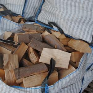 Kiln dried half bag hardwood