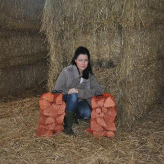 hardwood netted bags