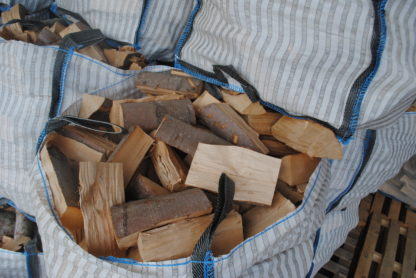 Kiln dried half bag hardwood