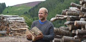 Andy Miller of Borders Firewood